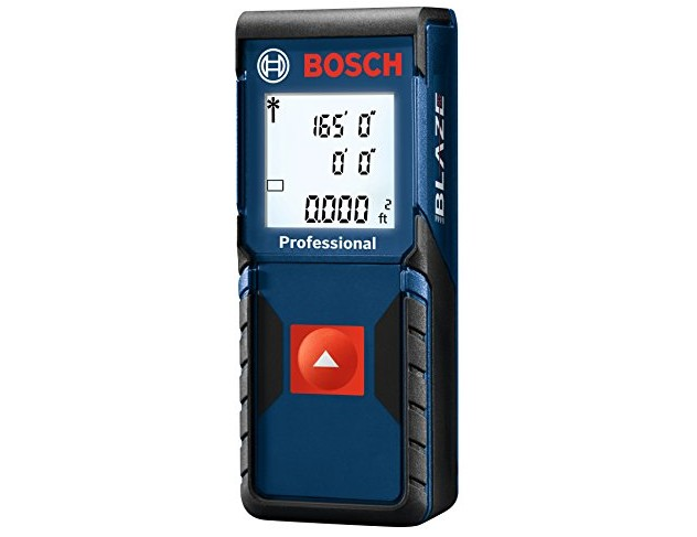 Bosch Blaze One Laser Distance Measure, 165-Feet GLM165-10