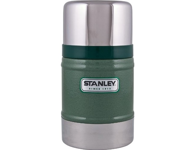 Stanley Classic Vacuum Food Jar 17oz Hammertone Green