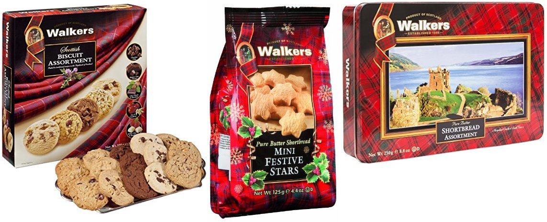 Walkers Scottish Biscuit assortment 500g 17.6 oz