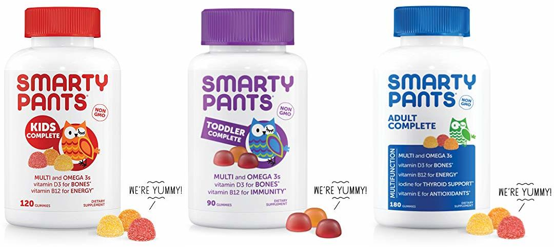 Deal of the Day: Save 40% on SmartyPants gummies favorites!