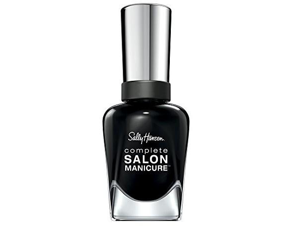 Sally Hansen - Complete Salon Manicure Nail Color, White To Black