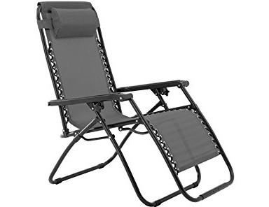 Zero Gravity Chair-Grey