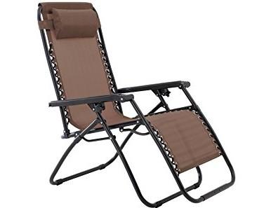 Zero Gravity Chair-Brown