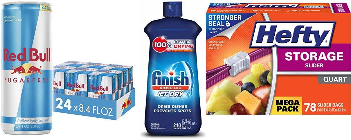 Red Bull Energy Drink Sugar Free 24 Pack of 8.4 Fl Oz, Sugarfree (6 Pack of 4)
