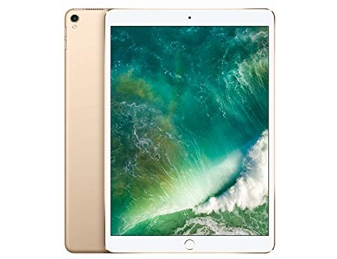 Apple iPad Pro (10.5-inch, Wi-Fi + Cellular, 256GB) - Gold (Previous Model)