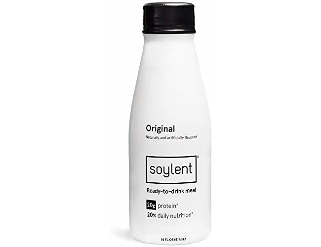 Soylent Meal Replacement Drink, Original, 14 oz Bottles, 12 Pack (Packaging May Vary)