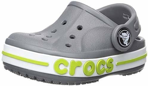 Crocs Kids Bayaband Clog, Charcoal
