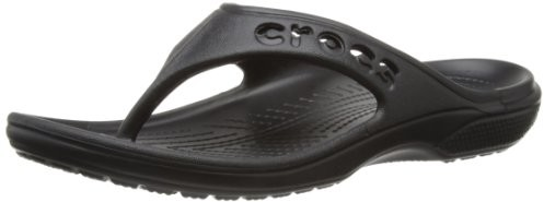 Crocs Unisex Baya Flip Flop, Black