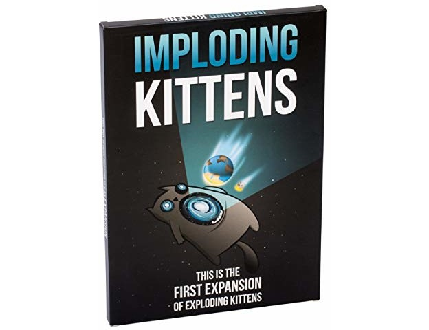 Imploding Kittens: This is The First Expansion of Exploding Kittens
