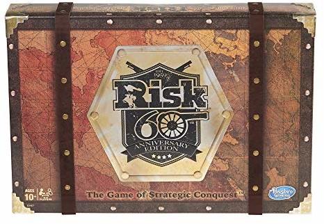 Hasbro Gaming Risk 60th Anniversary Edition