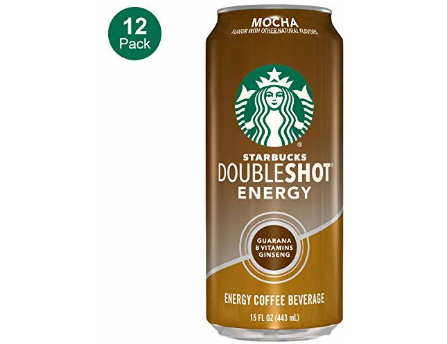 Starbucks, Doubleshot Energy Coffee, Mocha, 15 fl oz. cans (12 Pack)