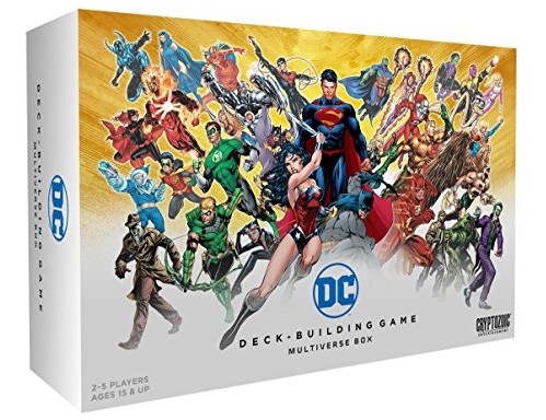 Cryptozoic Entertainment DC Comics DBG Multiverse Box