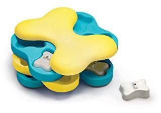 Outward Hound Nina Ottosson Dog Tornado Puzzle Toy - Stimulating Interactive Dog Game for Dispensing Treats