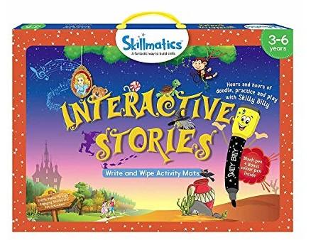 Skillmatics Educational Game: Interactive Stories (3-6 Years) | Creative Fun Activities for Kids