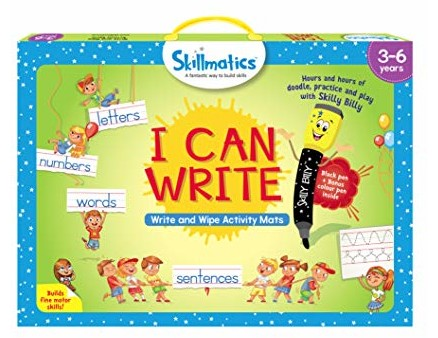 Skillmatics Educational Game: I Can Write (3-6 Years) | Creative Fun Activities for Kids