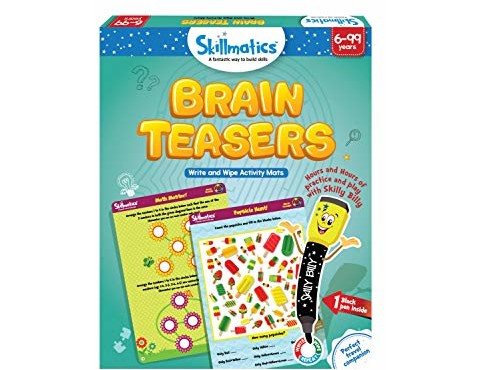 Skillmatics Educational Game: Brain Teasers (6-99 Years) | Fun Learning Games and Activities | Gifts for Kids