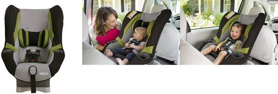 Graco My Ride  Lx Convertible Car Seat Installation