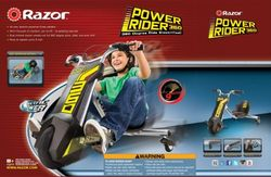 Razor Power Rider 360 Electric Tricycle JungleDealsBlog.com