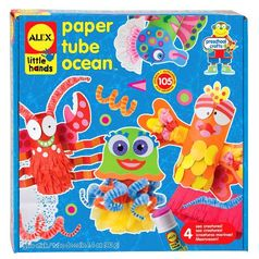 ALEX Toys Little Hands Paper Tube Ocean JungleDealsBlog.com