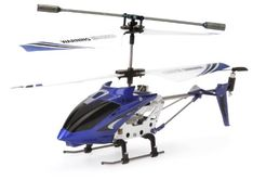 Syma S107G 3.5 Channel RC Helicopter with Gyro, Blue JungleDealsBlog.com