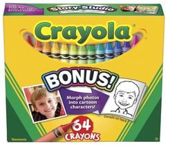 Crayola 64 Ct Crayons JungleDealsBlog.com