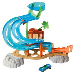 Hot Wheels Race Rally Water Park Playset JungleDealsBlog.com