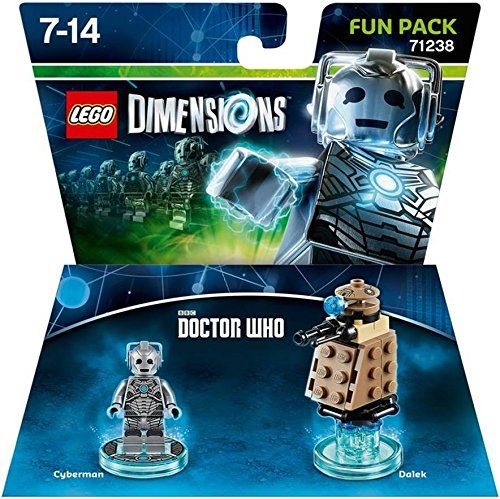 Dr. Who Cyberman Fun Pack – Lego Dimensions, BEST Price! | Jungle ...