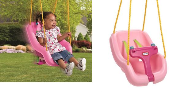 Little Tikes 2 In 1 Snug N Secure Swing Pink Best Price