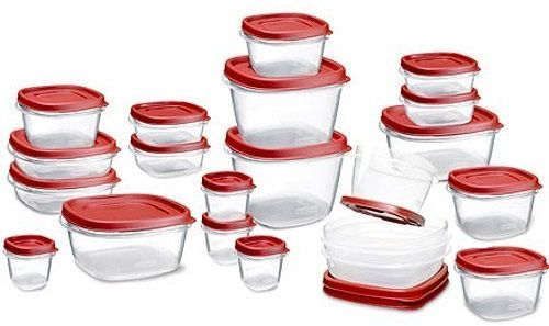 Has An Awesome Deal You Can Score On The Rubbermaid Easy Find Lid Food Storage Container 42 Piece Set For 16 99 Reg 19 This Is Lowest