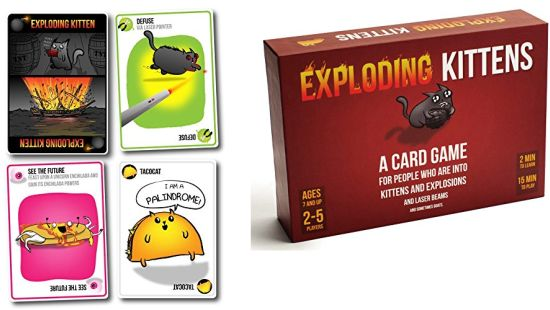 Expired: Amazon Prime Day: Exploding Kittens: A Card Game