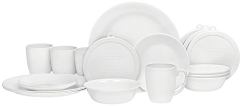 Hurry On Over To Amazon Where You Can Score The Very Highly Rated Corelle  20 Piece Livingware Dinnerware Set With Storage, Winter Frost White,  Service For 4 ...