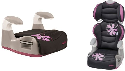 evenflo amp high back booster car seat best price jungle deals blog. Black Bedroom Furniture Sets. Home Design Ideas