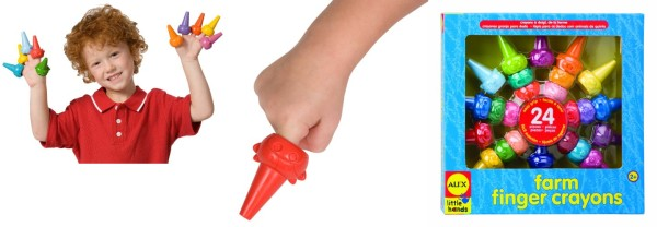 ALEX Toys Little Hands Farm Finger Crayons, Add-on, Lowest ...