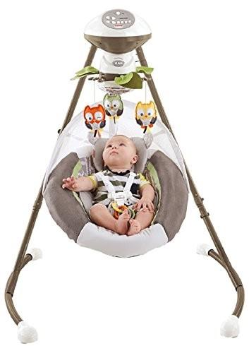 Expired Fisher Price My Little Snugabear Cradle N Swing