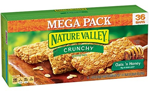 Expired nature valley oats n honey crunchy granola bars box 2 hurry over to amazon where you can get a deal on the nature valley oats n honey crunchy granola bars box 2 count 36 bars 149 oz for sold out shipped solutioingenieria Choice Image