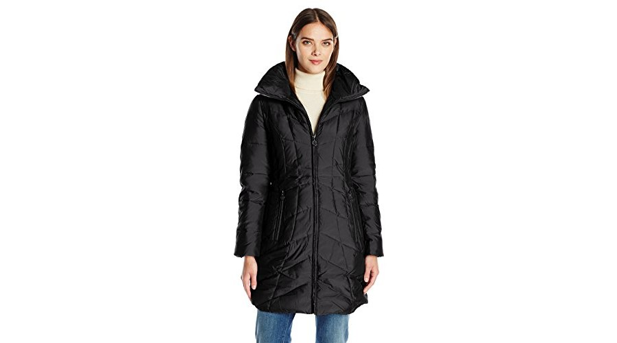 02724db4614 Amazon.com is offering up a deal on the Anne Klein Women s Stand Collar  Down Puffer