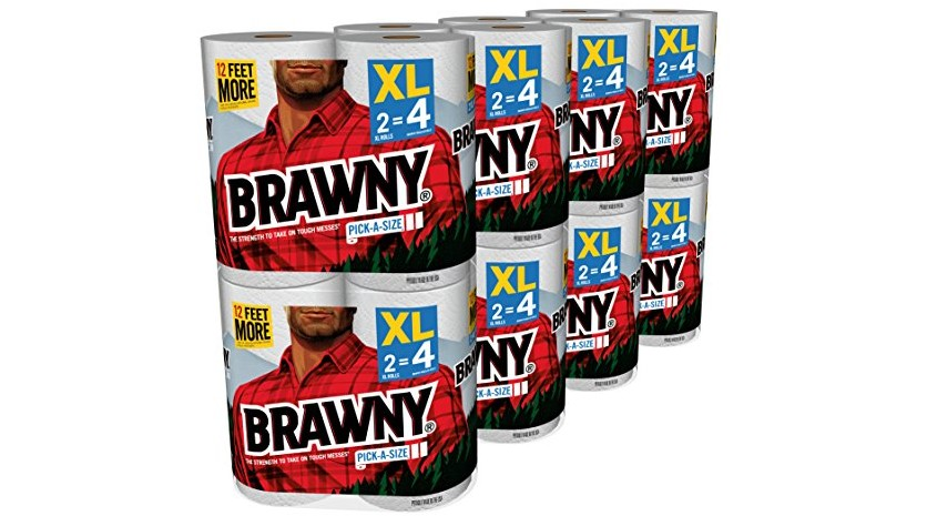 Expired Brawny Pick A Size Paper Towels 16xl Rolls Best