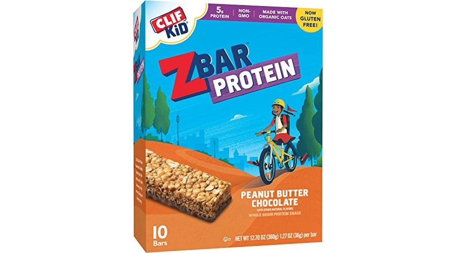 CLIF KID ZBAR – Protein Snack Bar – Peanut Butter Chocolate