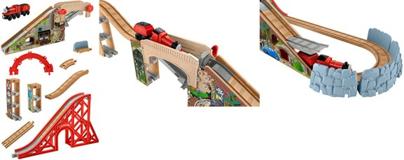 e1aba35f1db3 ... Fisher-Price Thomas the Train Wooden Railway Speedy Surprise Drop Set  for SOLD OUT (reg. $99.99) shipped! This is the lowest price it has been to  date ...