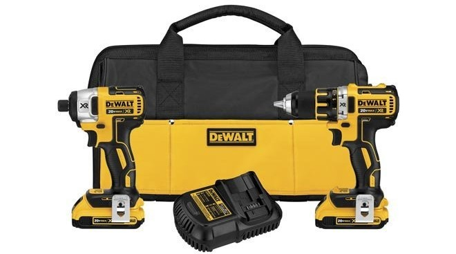 today only and while supplies last amazon has an awesome deal you can score on the dewalt dck281d2 20v max xr lithium ion brushless compact drill driver
