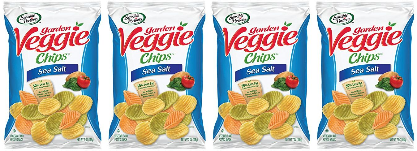 Nice Price On Sensible Portions Garden Veggie Chips Sea Salt 7 Ounce Pack Of 6 Jungle