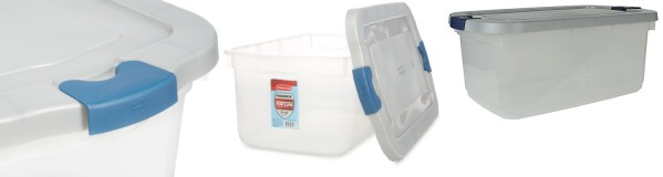 Constructed From Tough Roughneck Material And Featuring A Transparent  Design, The Rubbermaid Roughneck Clear Storage Container Offers A Durable  And ...