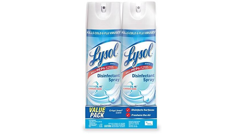 Lysol Crisp Linen Spray