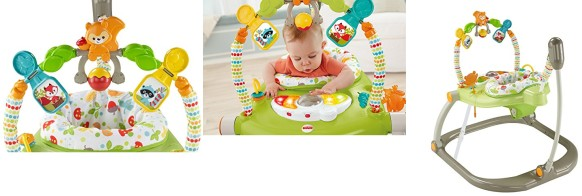 2aee828706a6 Fisher-Price Woodland Friends SpaceSaver Jumperoo