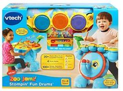 VTech Zoo Jamz Stompin' Fun Drums JungleDealsBlog.com
