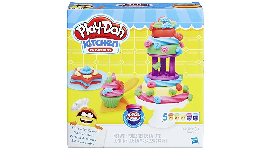 Expired Play Doh Kitchen Creations Frost N Fun Cakes Best Price