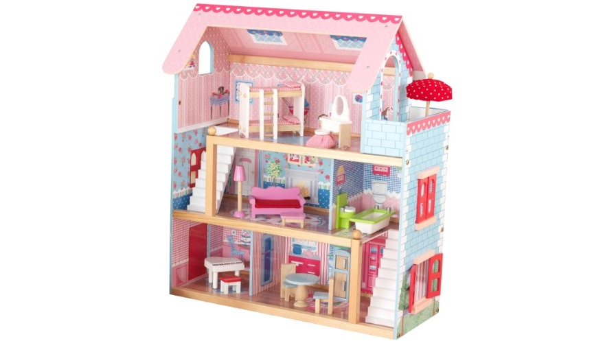 Amazon Is Offering The Lowest Price To Date On The Highly Reviewed KidKraft  Chelsea Doll Cottage With Furniture For JUST $64.99 ...
