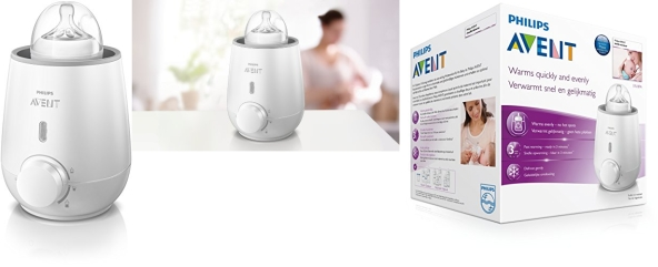 how to use philips avent fast bottle warmer