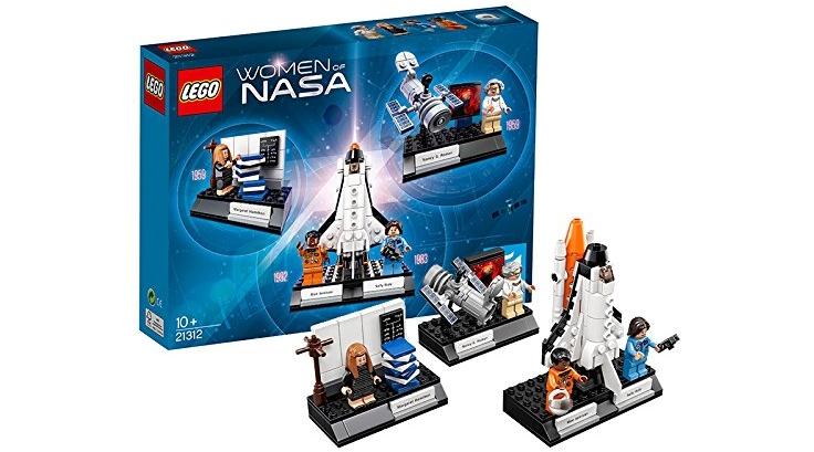 LEGO Ideas Women of Nasa 21312 Building Kit (231 Piece), Lowest ...