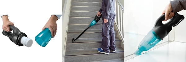 Cordless Vacuum Kit Floor Carpet Cleaner Lithium Ion Compact 2.0Ah 18-V MAKITA